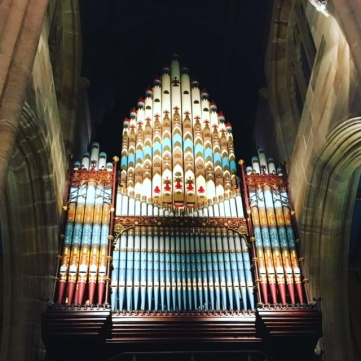 St Andrews pipe organ